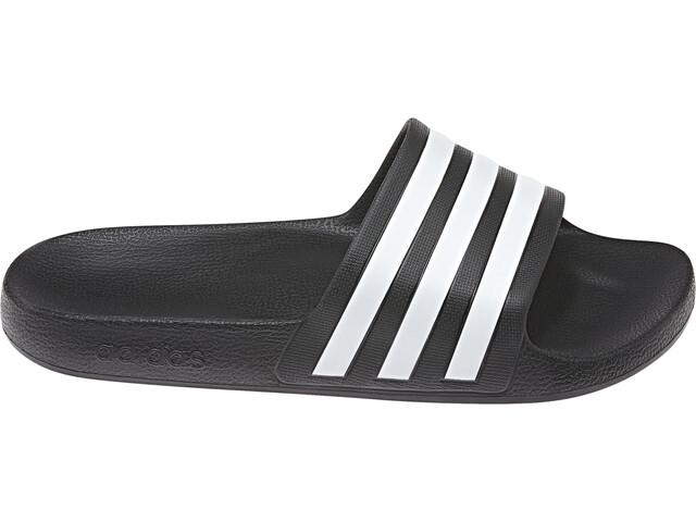 3086817802b adidas Adilette Aqua Sandals Men core black/ftwr white/core black at ...